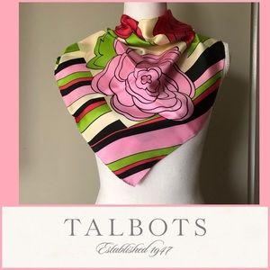 100% Silk Talbot's Scarf